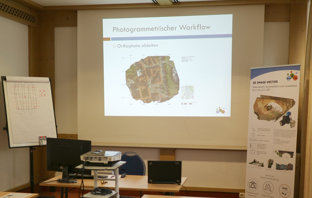 Photogrammetrie Training bei Geo4You