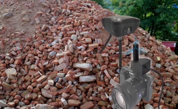 3D ImageVector und Haufwerk